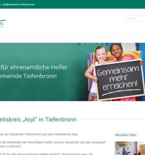 Online-Helfer-Tool für Ehrenamtliche Helfer