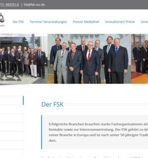 FS|MEDIEN - Internetagentur - FSK Homepage - FS|MEDIEN - Internetagentur - FSK Homepage - Relaunch