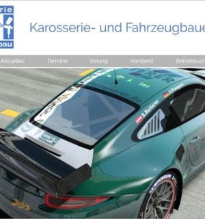 FS|MEDIEN - Internetagentur - Karosserie- und Fahrzeugbauer Innung Stuttgart - Homepage - Porsche