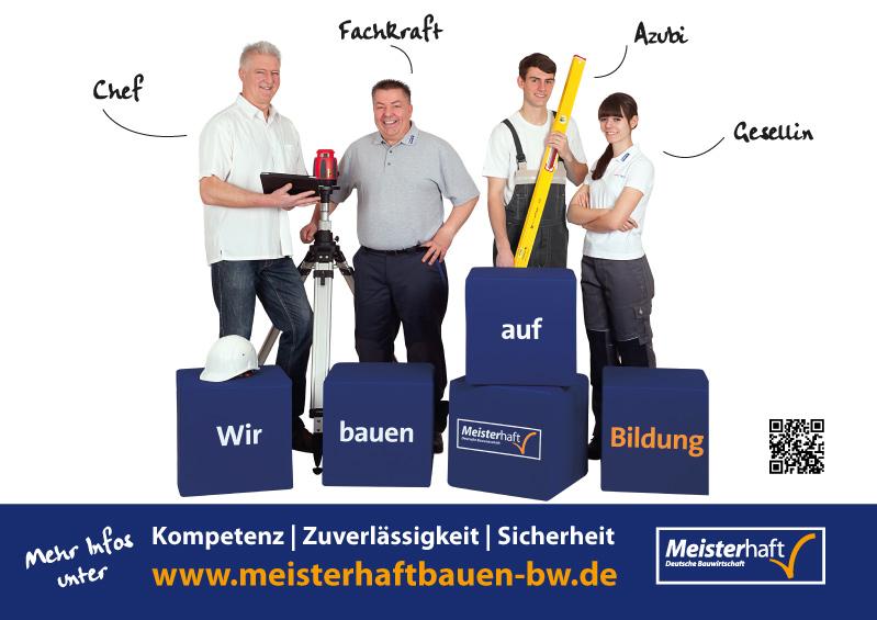 FS MEDIEN - Internetagentur - Hompage - Meisterhaft Bauen BW – Werbekampagne - Werbeplakate