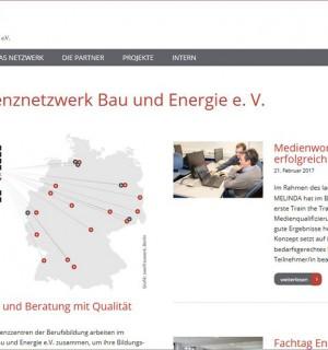 FS Medien - Internetagentur FS Medien - Internetagentur - Kompetenznetzwerk Bau und Energie e. V. - Hompage